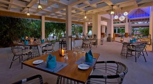 Azure Restuarant at Kandima Maldives