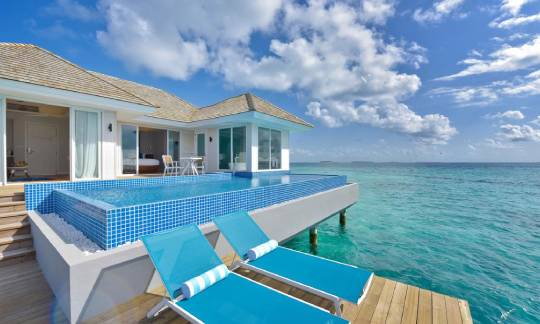 Honeymoon Aqua Pool Villa at Kandima Maldives