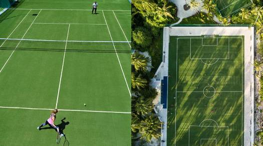 Kandima Maldives - Tennis Court & Soccer Ground