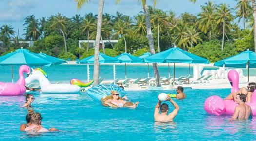 Pool Party at kandima Maldives